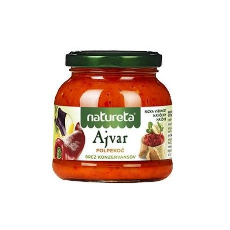 SEMI-HOT AJVAR - NATURETA
