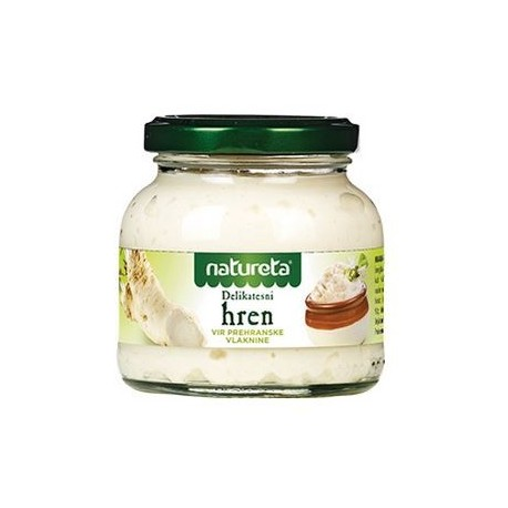 GRATED HORSERADISH - Natureta