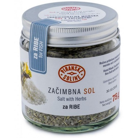Salt with herbs for fish
