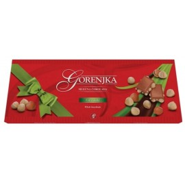Milk chocolate with whole hazelnuts - Gorenjka