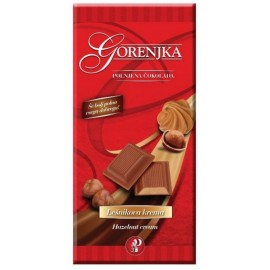 Milk chocolate with hazelnut cream - Gorenjka