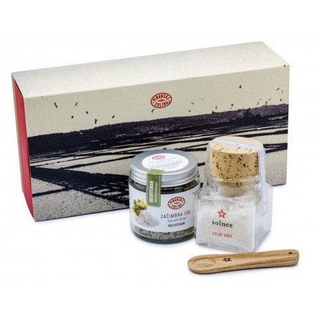 Salt and Mediterranean Herbs Gift Set (Piranske soline)
